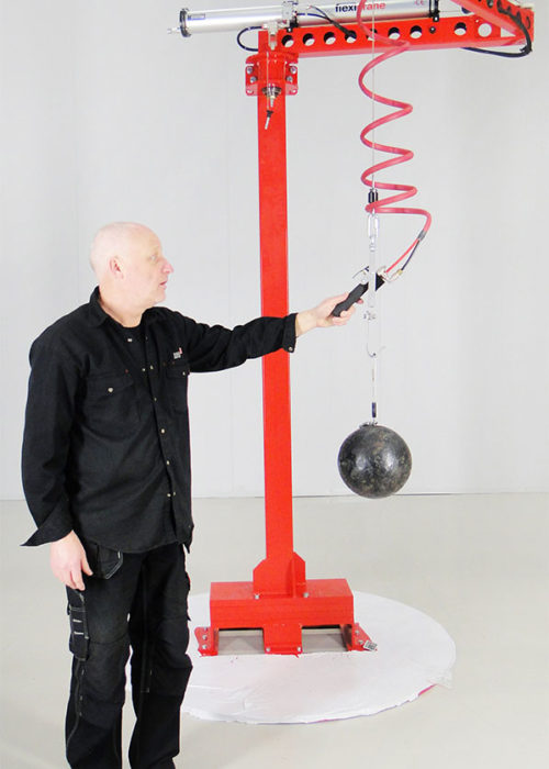 Kranar-vikarmskran-svangkran-FlexiCrane-Mobile