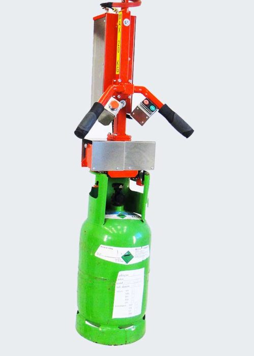 Skraddarsydda lyftar mekaniska lyftar gasflasklyft - 3484
