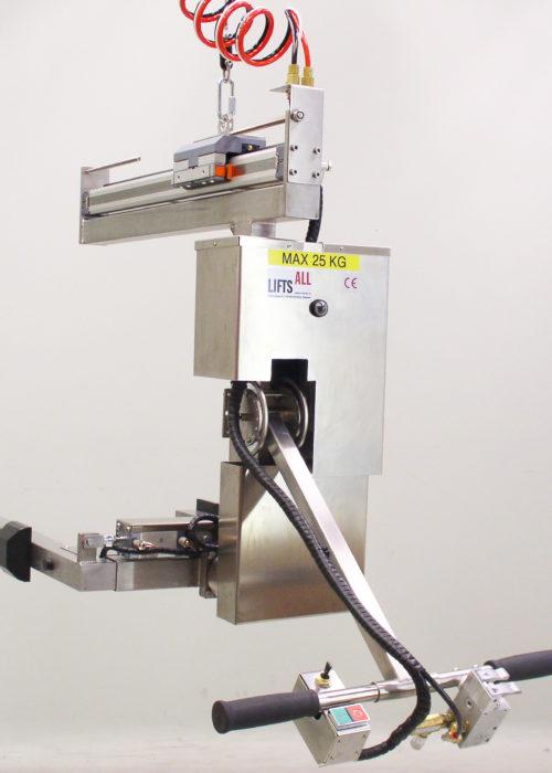 mekaniska lyftar rostfri pallvändare