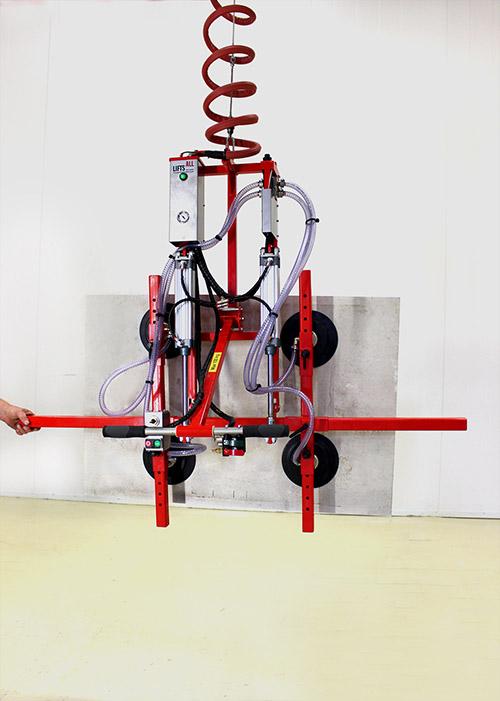 PW100 vertical (tilted) metal sheet