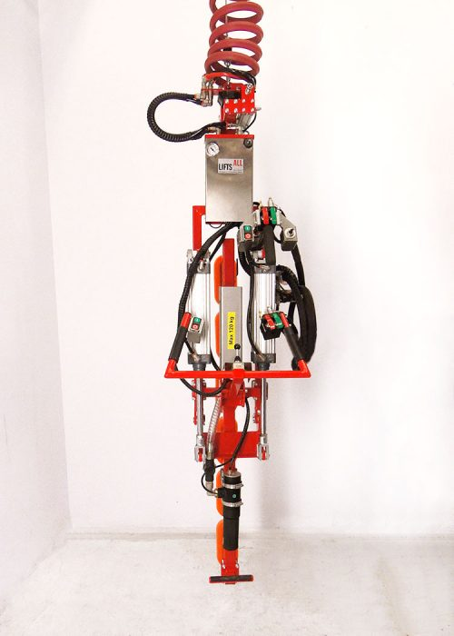 gas tank gripper with controls