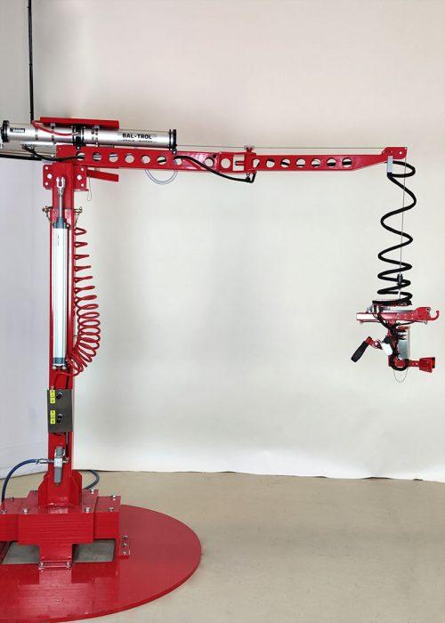 gas cylinder gripper with flexicrane